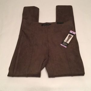 Andrew Marc Yoga Pants XS Color Taupe Leggings
